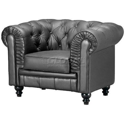 Aristocrat Armchair, Black by