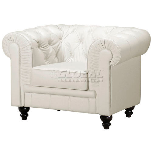 Aristocrat Armchair, White by