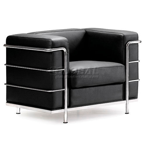 Fortress Armchair, Black by