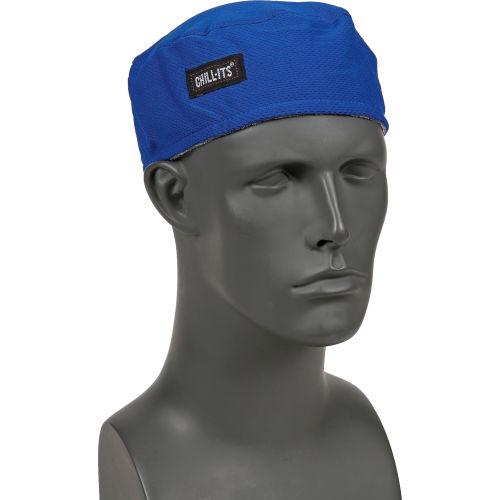Ergodyne Chill-Its 6630 High-Performance Cap Lime Cap Absorbent Terry Headband