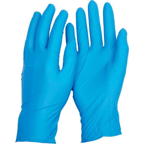 TNT Blue Disposable Gloves, ANSELL 92-675-M, 100 Gloves/Box by