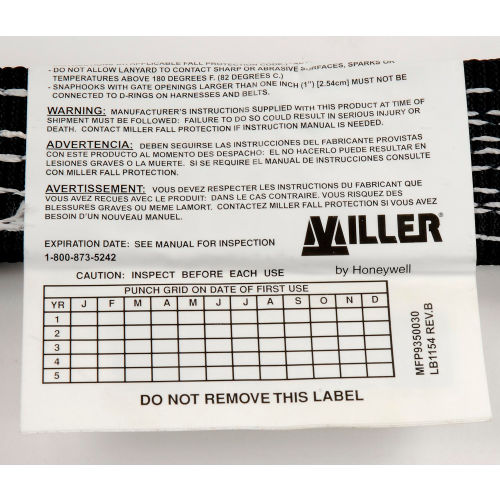 Fall Protection | Harnesses | Miller D-Ring Extension