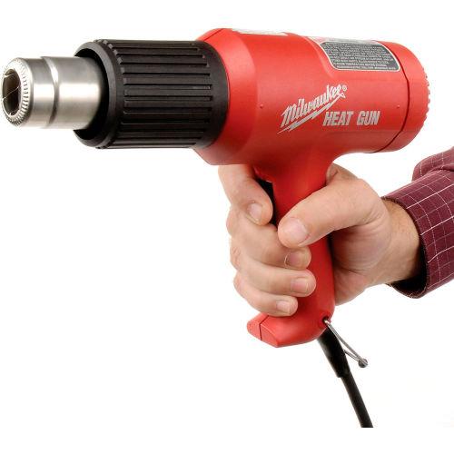 Adhesives Applicators Heat Glue Guns Heat Guns Milwaukee 8975 6 Dual Temperature Heat Gun B445678 Globalindustrial Com