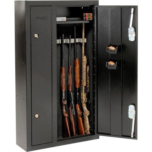 Homak 8 Gun Double Door Steel Security
