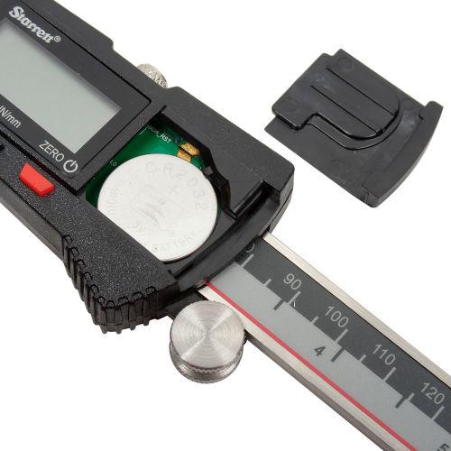 "STARRETT EC799A-6//150 0-6/"" DIGITAL CALIPER NEW"