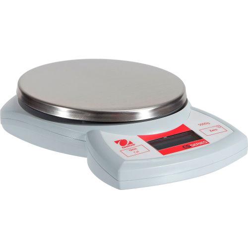 "Ohaus CS5,000 AM Portable Digital Scale 5000g x 1g 5-3/4"" x 5-1/2"" Platform by"