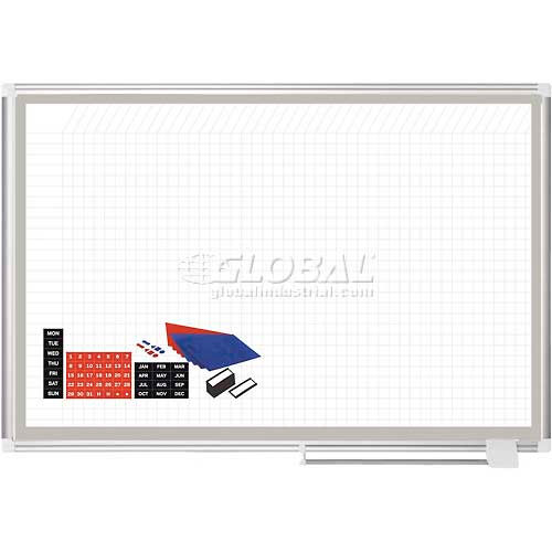 "Click here to buy Magnetic Planning Board Kit 48""W x 36""H Steel Surface."