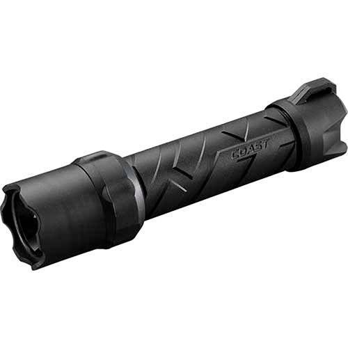 710 Lumens 4 X AA Coast LED Torch POLYSTEEL 600 Pure Beam Focusing