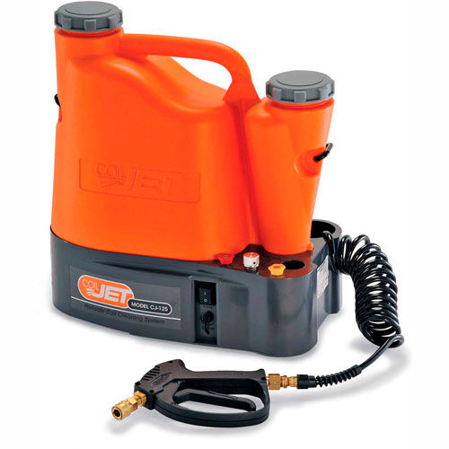 SpeedClean CJ-125 CoilJet® Portable HVAC Coil Cleaner System, 125 PSI, 0.6...