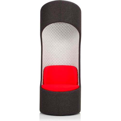 KI CZ Privacy Booth Blazer Oriel Seat Blazer Quilted Hourglass with Blazer Kingsmead Outside by