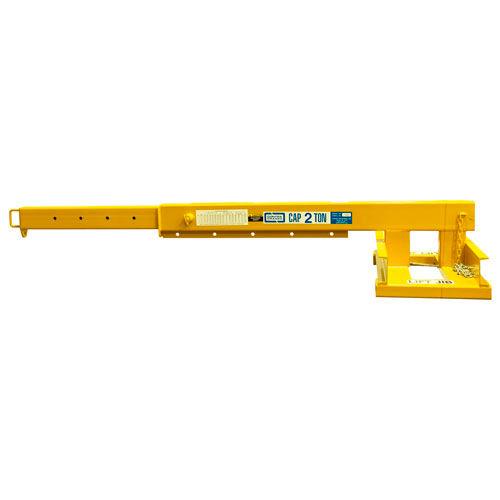 "Contrx Telescoping Forklift Jib-Lift Crane JLT836 8000 Lb. Capacity 36"" On-Center Fork Pockets by"
