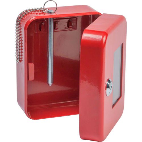 "FireKing EK0506 Hercules Emergency Key Safe, 4-3/4""W x 3""D x 6""H, 3 Keys by"