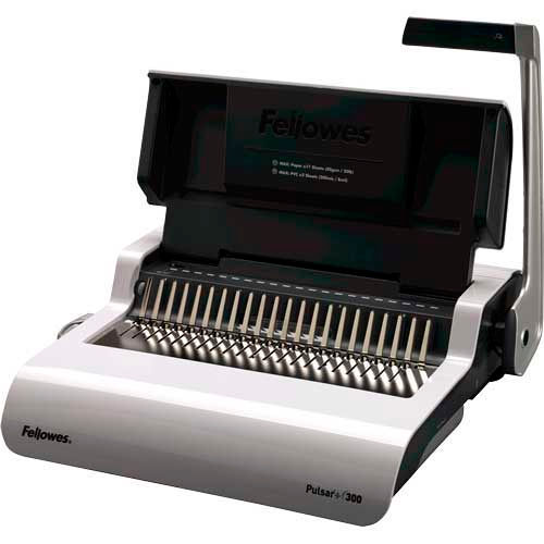 Fellowes Pulsar+ 300 Manual Comb Binding Machine by