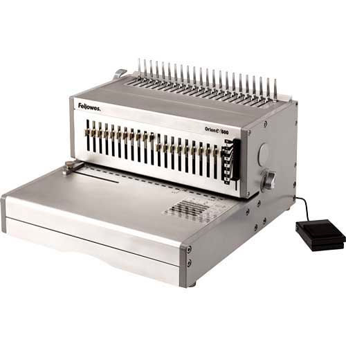 Fellowes Orion E 500 Electric Comb Binding Machine by