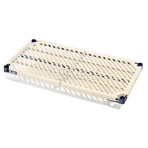 Nexel Vented Plastic Mat Shelf with Clips 30W x 24D