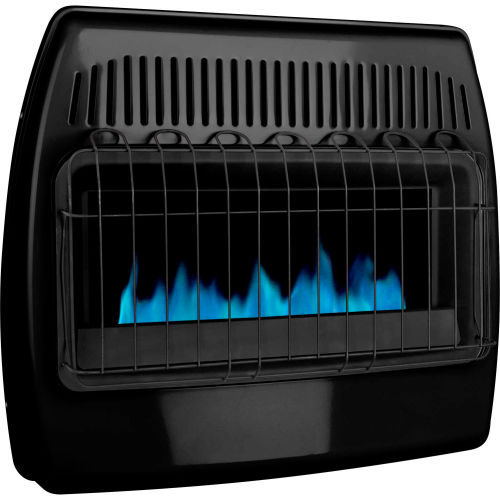 Dyna-Glo LP/NG Dual Fuel Blue Flame Vent Free Thermostatic Garage Heater GBF30DTDG-2... by