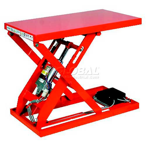 "HAMACO All-Electric Lift Table ML-100-47V 28.3"" x 15.7"" 220 Lb. Cap. SPM Motor by"