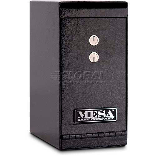 B-Rate Drop Slot Under Counter Depository Safe 1//2 Thick Steel Door 12 Tall x 8 Wide x 10 Deep Dual Key Bank Depository Lock