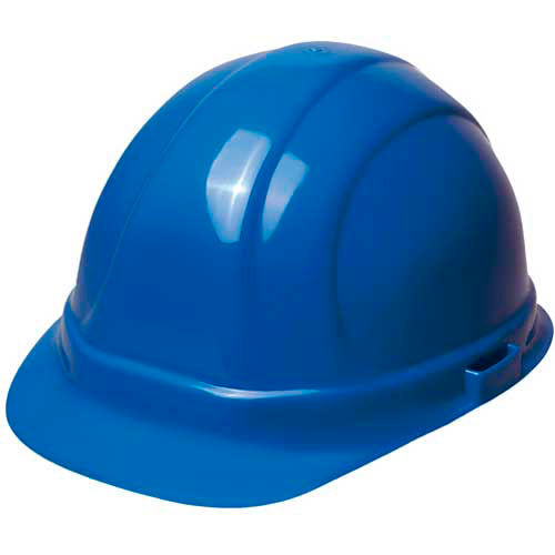 Click here to buy ERB 20003, Omega 360, Hardhat, 4-Point Ratchet Suspension Blue.
