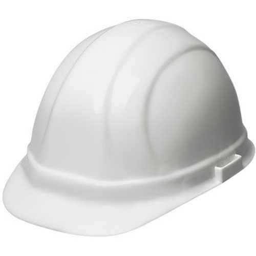 ERB 20001, Omega 360, Hardhat, 4-Point Ratchet Suspension White by