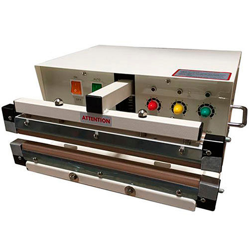 """Sealer Sales W-455AT 18"""" 5mm Wide Seal Double Impulse Automatic Sealer by"""