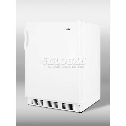 "Summit CT66J Freestanding Refrigerator-Freezer, Summit'S ""Dual Evaporator"" Cooling, Cycle Defrost by"