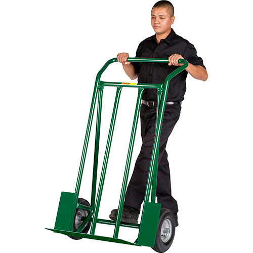 Little Giant Super-Sized Hand Truck T-1000-12P Pneumatic with Continuous Handle by