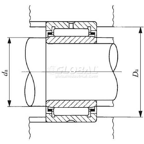 IKO Machined Needle Roller Bearings TR253820