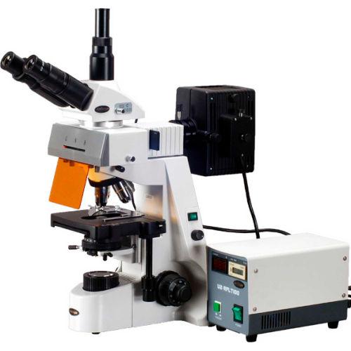 AmScope FM690TC 40X-2500X Infinity Extreme Widefield EPI-Fluorescent Microscope by