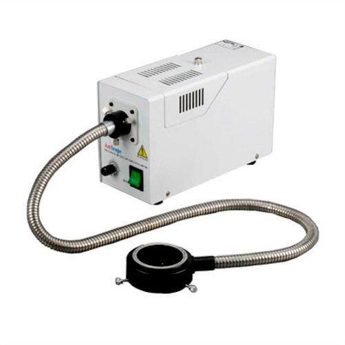 AmScope HL250-AR 150W Fiber Optic Microscope Ring Illuminator by