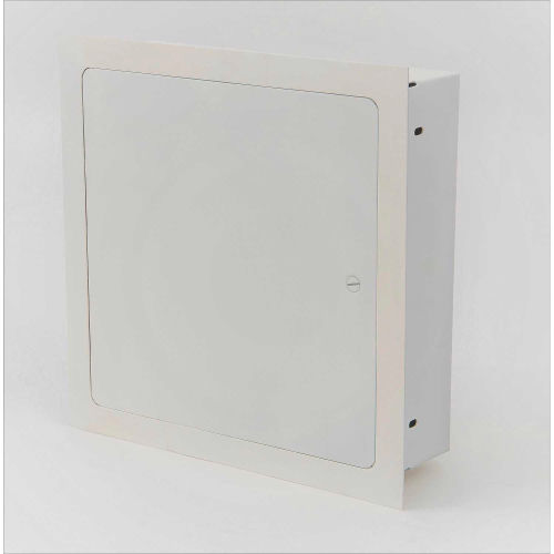"14/"" Recessed Equipment Storage Box Enclosure w// Hinged Door"