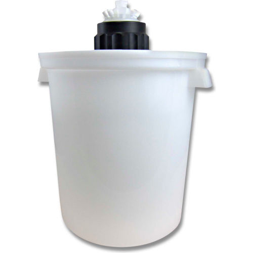 CP Lab Safety Port Cap System, 10L Carboy, 83B 10-Port Cap, Secondary Container by