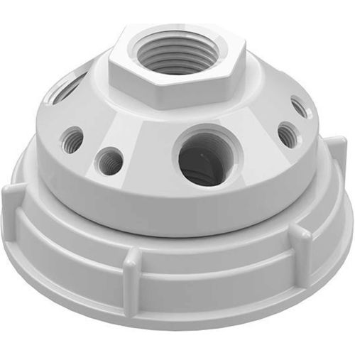 CP Lab Safety 10-Port Cap with Plugs, For Hedwin Drums/Carboys with 70mm Closure by