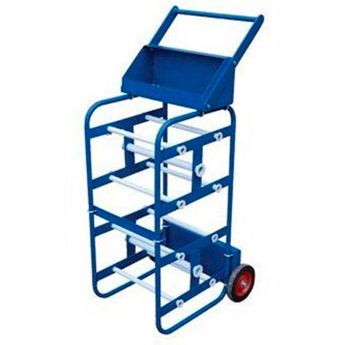 Capacity!! NEW Vestil Economy Wire Reel Caddy 150 Lb