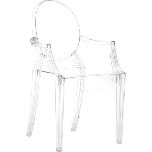 Anime Acrylic Chair, Transparent