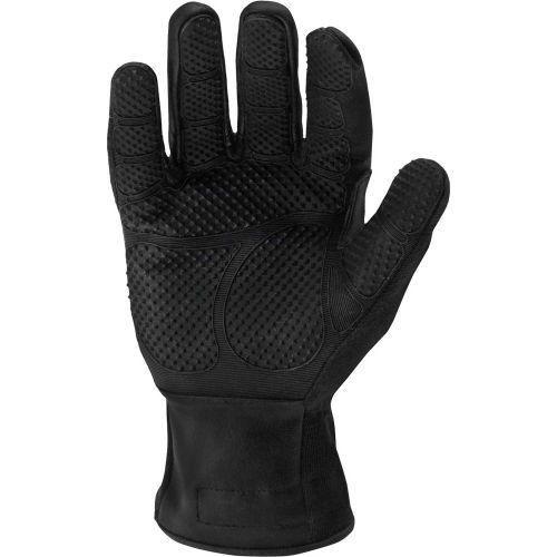 L,Kevlar,PR IRONCLAD HW6X-04-L Heat Resist Gloves,Black