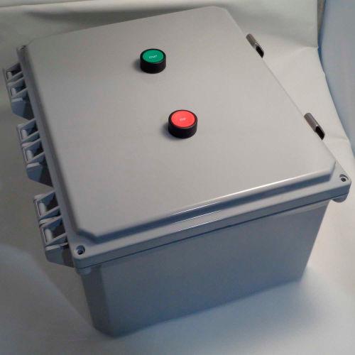 Springer Controls, JC8006P1K-UJ, Enclosed AC Motor Starter, 3-Phase, 60.0 HP, 460V by