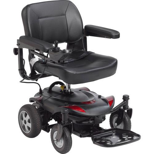 "Drive Medical TITANLTE-18FS Titan LTE Portable Power Wheelchair, 18"" Folding Seat by"