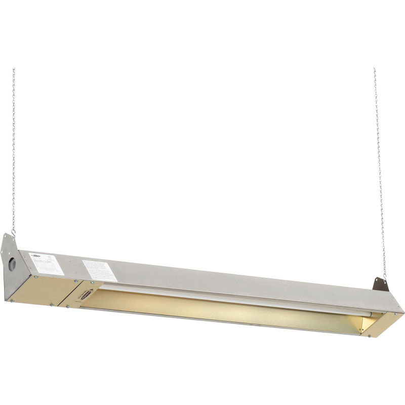 TPI OCH-46-240V-SSE OCH46240VSSE Series Och Outdoor//Indoor Rated Quartz Electric Infrared Heater 2000W 8.3 Amps Stainless Steel Finish Hard Wire Connection