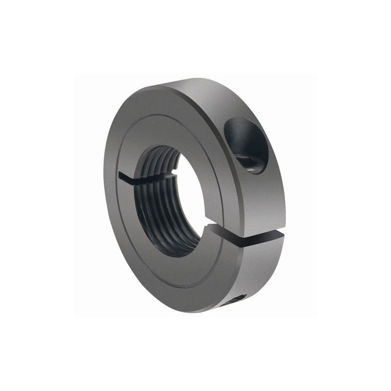 5//8 Width 3 OD Steel 1-3//4 Bore Black Oxide Plating Climax Metal TC-175-16 One-Piece Threaded Clamping Collar with Recessed Screw