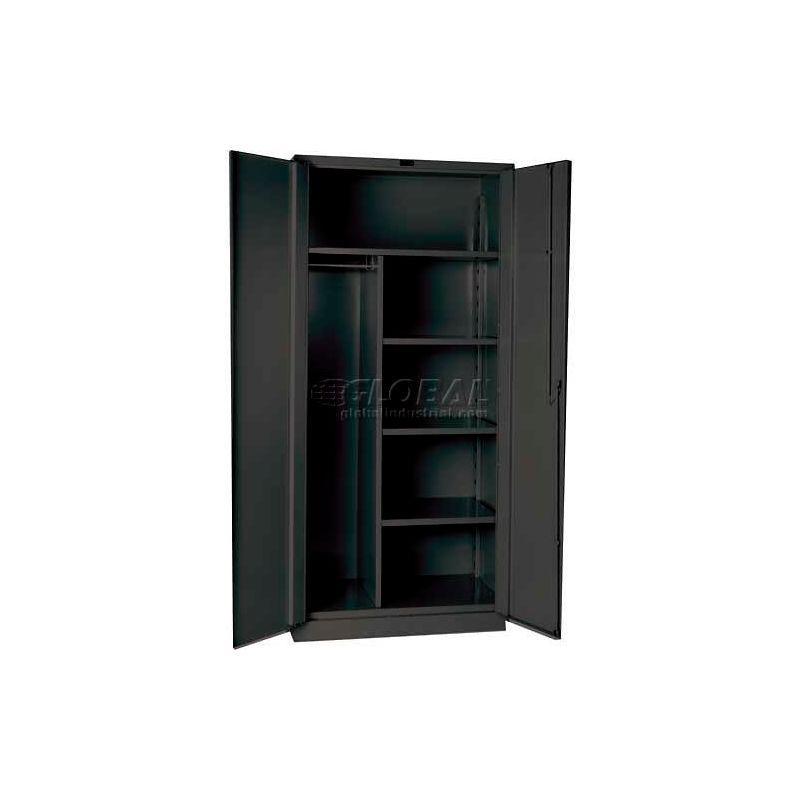 Hallowell Hw4cc8478 4cl 14 Gauge Extra Heavy Duty Classic Duratough Combination Cabinet 48x24x78 B661849 Globalindustrial Com