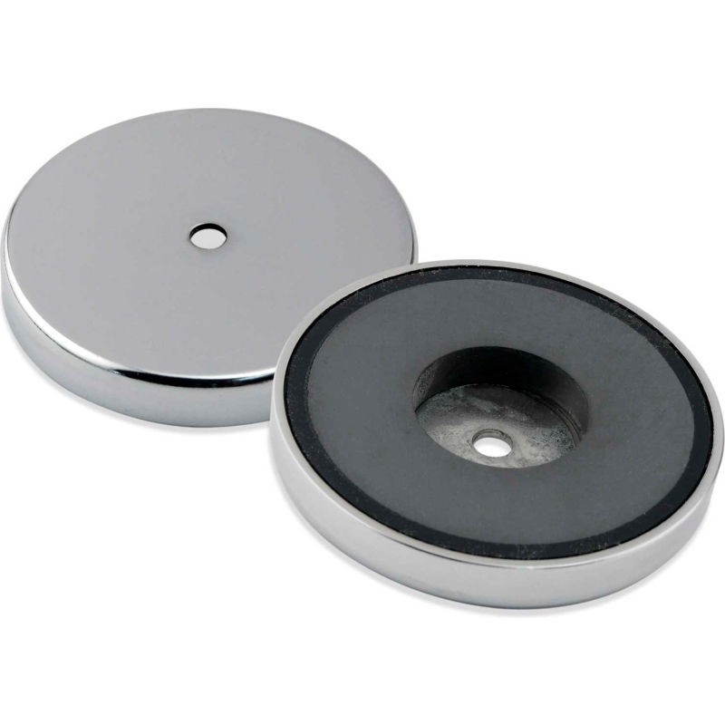 Master Magnetics RC-RB80X25 Rubber Cover for Round Base Magnet Fastener Pack of 25 White 3.20 Diameter
