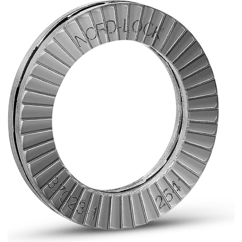 M11 1403 254 SMO Stainless Steel Nord-Lock 1403 Wedge Locking Washer 7//16 - Pkg of 200