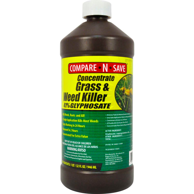 Compare N Save Concentrated Grass Weed Killer 32 Oz Bottle 75323 B1508831 Globalindustrial Com