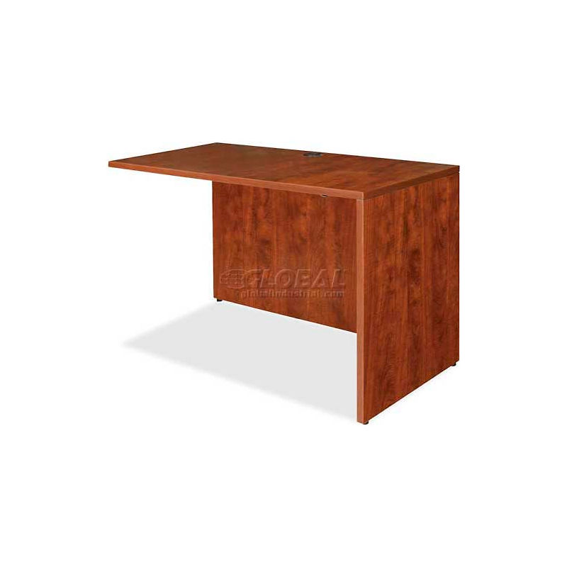 66 by 30 by 29-1//2-Inch Lorell Desk Shell Cherry