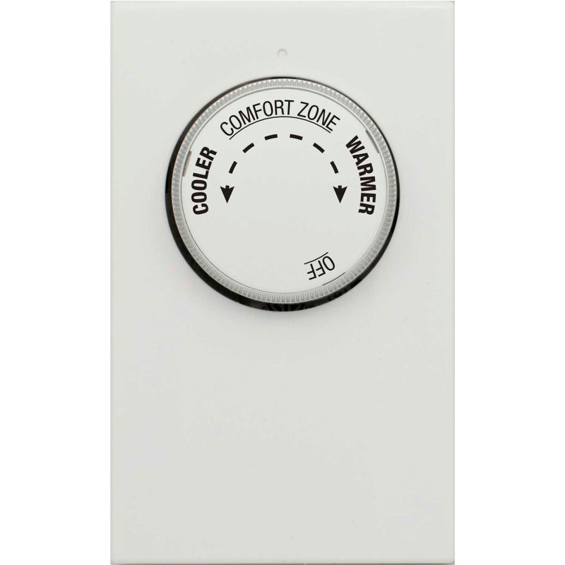 120 to 240VAC Line Voltage Mechanical Thermostat 1 Stage