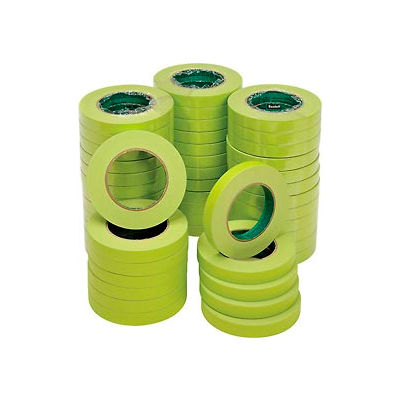 3M™ Scotch® Masking Tape for Hard-to-Stick Surfaces, 18mm x 55m, 48/CS - Pkg Qty 48