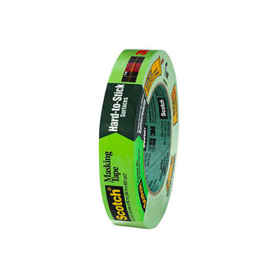 3M™ Scotch® Masking Tape for Hard-to-Stick Surfaces, 24mm x 55m, 36/CS - Pkg Qty 36