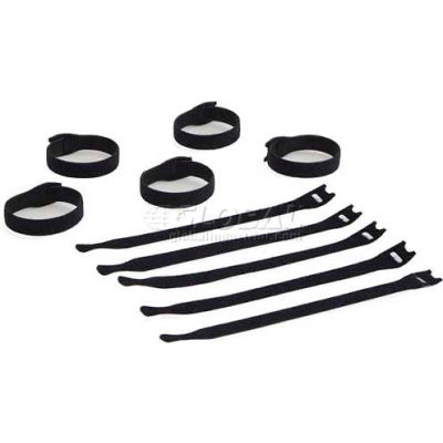 Kendall Howard™ Hook and Loop Cable Ties - 10 Pack