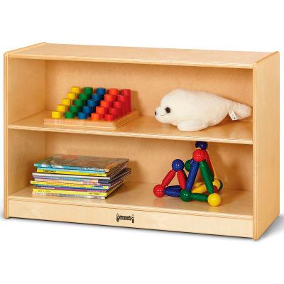 """Jonti-Craft® Short Fixed Straight 2-Shelf Bookcase - 36""""W x 15""""D x 24""""H"""